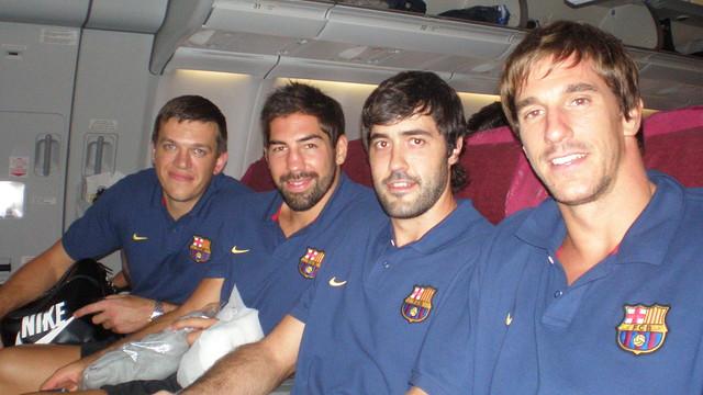 Rutenka, Karabatic,Entrerríos and Viran are off to Qatar
