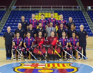 Foto del primer equipo de hockey patines 2014/15