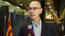 Silver was speaking to Barça TV. PHOTO: V. SALGADO - FCB