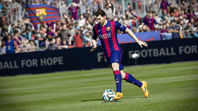 Just like in real life, Messi is amazing on FIFA 15
