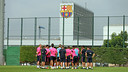 The team was back at work on Sunday morning / PHOTO: MIGUEL RUIZ - FCB
