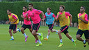 With two games and six training sessions, the players will be kept busy this week / PHOTO: MIGUEL RUIZ - FCB