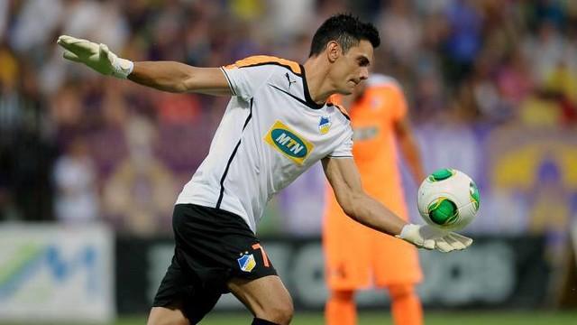 Urko Pardo is Apoel Nicosia's keeper with a Barça past / PHOTO: FACEBOOK URKO PARDO