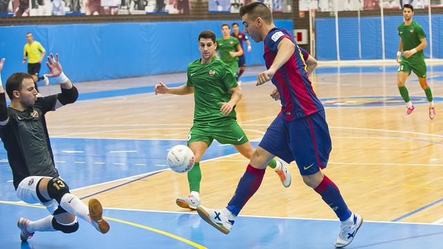 Lozano ja porta dos gols en Lliga