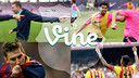 Official account of FC Barcelona on Vine