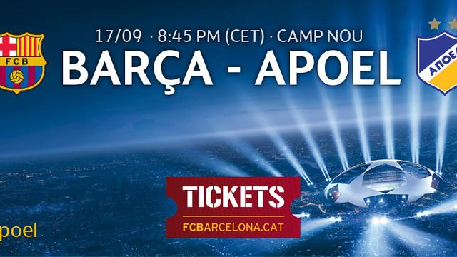 FC Barcelona v APOEL FC