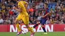 Sergi Samper led Barça with 107 passes / PHOTO: MIGUEL RUIZ-FCB