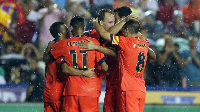 El Barça ha golejat per 0-5 el Llevant / FOTO: MIGUEL RUIZ - FCB