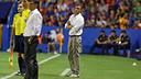 Luis Enrique was impressed with his whole team at the Ciutat de València / PHOTO: MIGUEL RUIZ - FCB