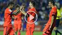 Messi fête son but face à Levante avec ses coéquipiers / PHOTO : MIGUEL RUIZ - FCB