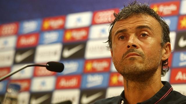 Luis Enrique ha destacado el buen papel que ha hecho el equipo en Montilivi