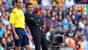 Luis Enrique was impressed by the team's defence against Granada / PHOTO: MIGUEL RUIZ - FCB
