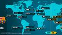 Les horaires du match