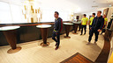 L'equip at the Paris Hotel / FOTO: MIGUEL RUIZ-FCB
