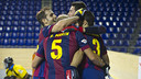 Barça rolled to a hard-fought victory in Lleida / PHOTO: VICTOR SALGADO - FCB