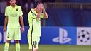 Messi, au Parc des Princes / PHOTO: MIGUEL RUIZ-FCB