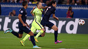 Iniesta captained the team against PSG / PHOTO: MIGUEL RUIZ - FCB