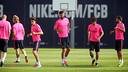 Luis Enrique is taking 18 players to Madrid / PHOTO: MIGUEL RUIZ - FCB