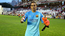 Bravo set a new record at Vallecas. PHOTO: MIGUEL RUIZ-FCB.