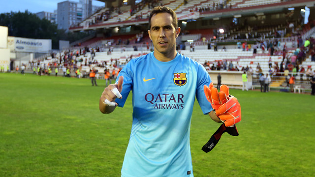 Bravo is one of the five nominees goalkeepers for the FIFA Fifpro XI. PHOTO: MIGUEL RUIZ-FCB.