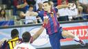 Lazarov led FC Barcelona with 9 goals / PHOTO: VÍCTOR SALGADO - FCB