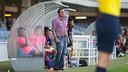Eusebio analizó en rueda de prensa la derrota contra el Lugo / FOTO: GERMÁN PARGA - FCB