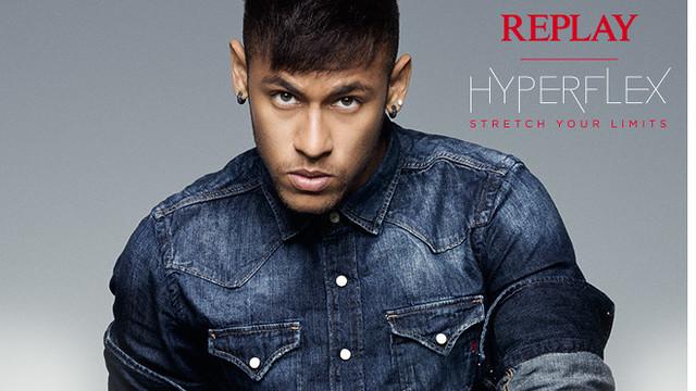 Replay has presented its new jeans in association with Barça's Neymar Jr, Gerard Piqué, Luis Suárez, Andrés Iniesta and Ivan Rakitic