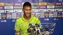 Neymar à Pékin / PHOTO: CBF.COM.BR
