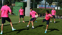 Thursday's session was the first this week with the full squad. PHOTO: MIGUEL RUIZ-FCB.