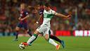 Rafinha, durante el partido con el Elche / FOTO: MIGUEL RUIZ-FCB