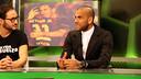 Dani Alves, en el plató de 'El Marcador' de Barça TV / FOTO: MIGUEL RUIZ - FCB