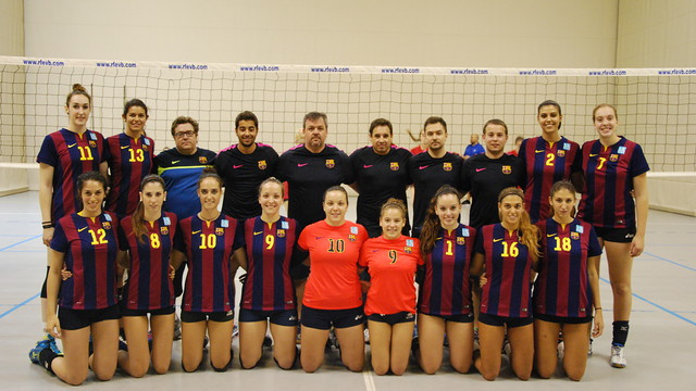 Volleyball. Women's Team (CVB) 2014 / 2015