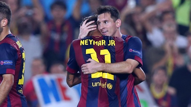 Messi and Neymar at their deadliest