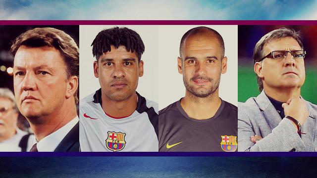 Van Gaal, Rijkaard, Guardiola i Martino.