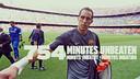 Claudio Bravo's record streak has ended at 754 minutes.  / PHOTO: FCB