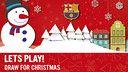 Draw a Christmas Card and win a Messi shirt