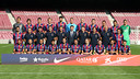 Fotografia de la plantilla del Barça 2014/15. FOTO: MIGUEL RUIZ-FCB.
