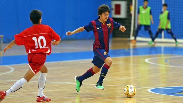 Los equipos formativos del futsal ganaron sus respectivos partidos