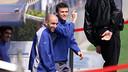 Luis Enrique et Abelardo, joueurs blaugrana / PHOTO : ARXIU FCB