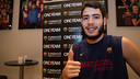 Àlex Abrines is the club's ambassador for the project. PHOTO: GERMÁN PARGA / FCB