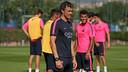 Luis Enrique was speaking after Friday training at the  Ciutat Esportiva / MIGUEL RUIZ-FCB