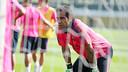 There was training on Monday at the Ciutat Esportiva Joan Gamper. PHOTO: MIGUEL RUIZ-FCB.