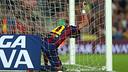 Neymar was unable to extend his scoring run to seven games / PHOTO: MIGUEL RUIZ-FCB
