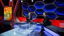 Josep Maria Bartomeu was speaking to presenter Lluís Canut / PHOTO: GERMÁN PARGA-FCB