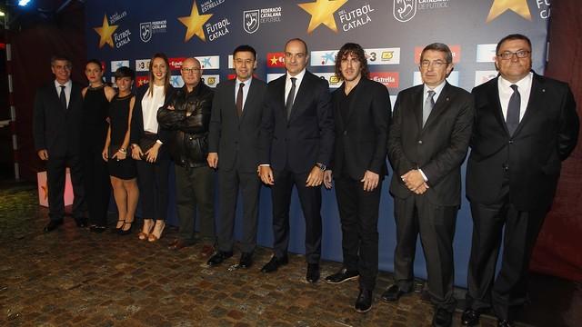 The blaugrana party at the 'Night of the Stars of Catalan Football Gala' / PHOTO: MIGUEL RUIZ - FCB
