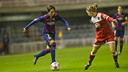 The women's team will look for the victory in the Champions' League at Bristol / VÍCTOR SALGADO-FCB