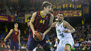 Ante Tomic was vital in the win against Panathinaikos / PHOTO: GERMÁN PARGA - FCB
