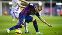 Sandro scored Barça's goal on Saturday / PHOTO: VICTOR SALGADO - FCB