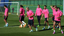 Barça have a training session every day as they get ready for the game with Sevilla / PHOTO: MIGUEL RUIZ - FCB