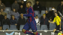 Adama featured in the 4-4 draw / PHOTO: FCB ARCHIVE